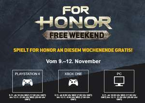For Honor - Gratiswochenende vom 3.-6. Mai ( PC/ PS4/ XB1)