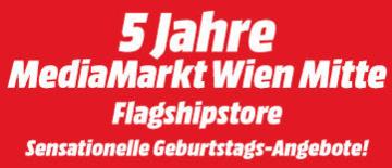 5 Jahre MediaMarkt Wien Mitte Geburtstagsangebote, z.B. Huawei P9 lite um 155€ oder Xbox One S 500GB Hot Wheels + 2. Controller + Forza Horizon 3 + Fifa 18 + 3 Monate Xbox Live Gold um 225