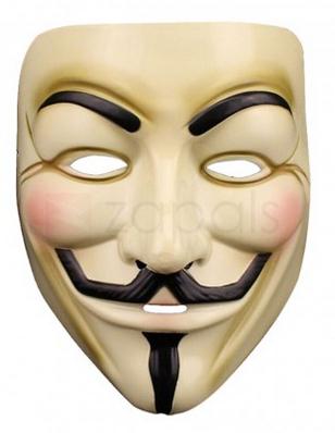 """V wie Vendetta! Guy Fawkes Maske für nur 0,18€ inkl. Versand mit Gutscheincode """"FREE1107ALL"""""""