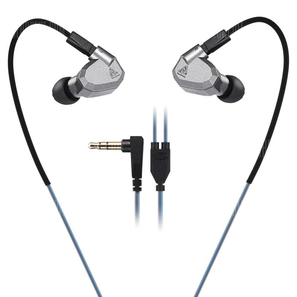 [Gearbest] KZ ZS5 Detachable HiFi Earphones für 15,45 € - ab 18:00 für rund 11,50 €!