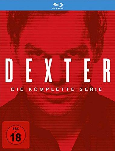 Dexter - Die komplette Serie [Blu-ray] (34 Discs) für 54,94€ (vorbestellen) [Amazon]