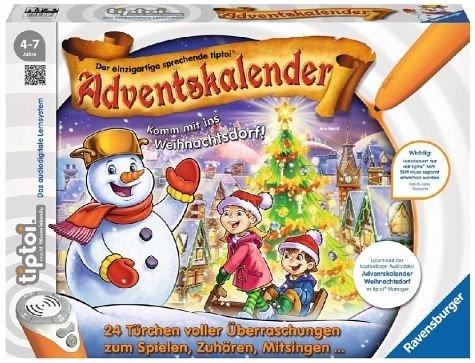 Amazon.de: Ravensburger TipToi Adventskalender - das Weihnachtsdorf um 9,99€