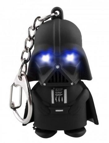 """Zapals - Star Wars """"Darth Vader"""" Schlüsselanhänger mit LED Augen und Sound um 0,18€"""