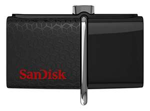 Amazon.co.uk: SanDisk Ultra 64GB Dual USB 3.0 Stick um 16,94€