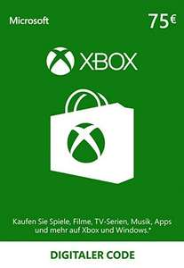 Xbox Live 75€ Guthaben für 60,62€ - u.a.: Xbox One X für 404,11€+ 8% Cashback
