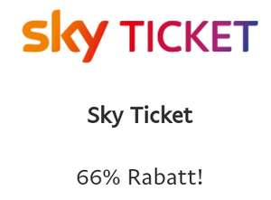 sky Ticket: 3 Monate für €9,99 (PayPal Aktion)