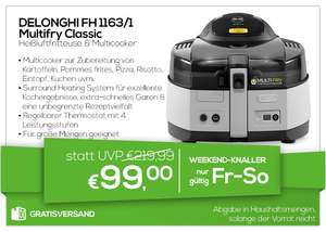 DeLonghi FH 1163/1 Multifry Classic Multicooker & Heißluftfritteuse