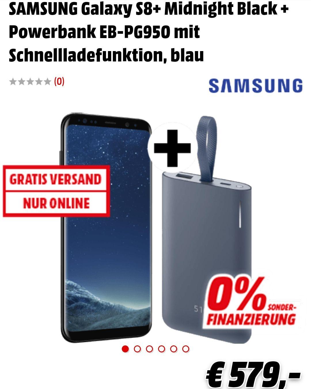 SAMSUNG Galaxy S8+ inkl Powerbank