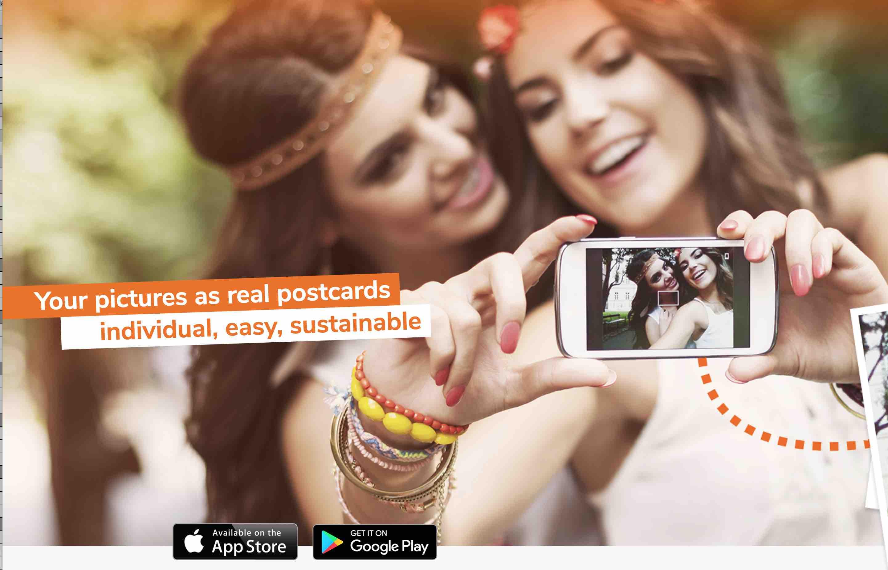 [Android & IOS] GRATIS statt 1,99€ - Postkarte weltweit versenden Postando App