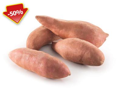 Hofer Preiskick: Süsskartoffeln