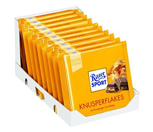 "(Fett ins Bett) 10x Ritter Sport ""Knusperflakes"" um 6,90 € - 57%"