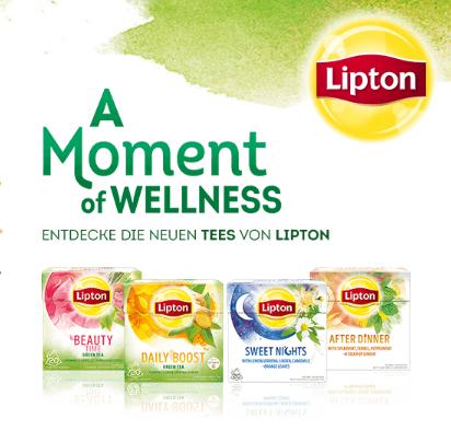 1 Packung Lipton Tee kaufen und Geld zurückerhalten