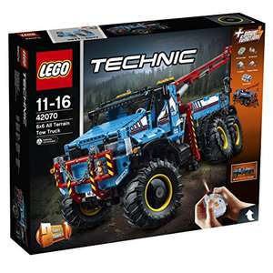 [Amazon.co.uk] LEGO 42070 Technic 2in1 Model – Allrad-Abschleppwagen für 163,62€