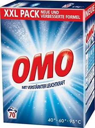 [Amazon] - Sparabo - OMO Universal 70 WL (1 x 4.9 kg) für 5,54 € (7,9 ct /WL) bzw. 4,96 € ( 7 ct/WL)