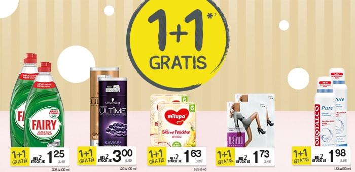 6x FAIRY Geschirrspülmittel für 25c pro Flasche (Marktguru & 1+1 Aktion)