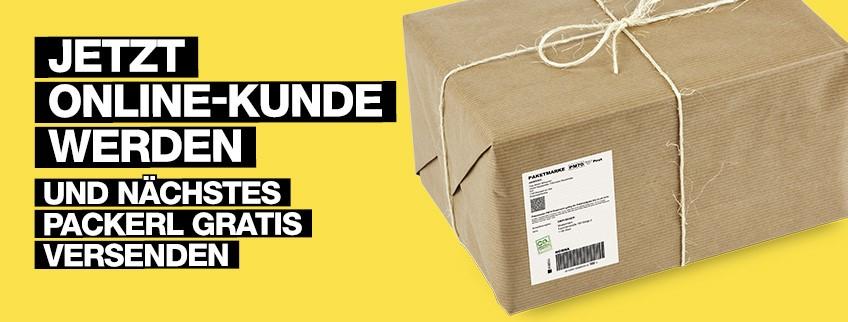 Weihnachtspost: Gratis Paket verschicken (Neukunden)