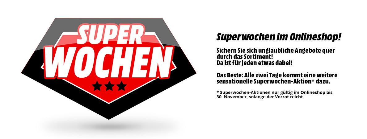 Media Markt - Superwochen im Onlineshop - unglaubliche Angebote quer durch das Sortiment