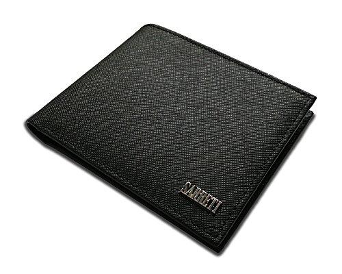 Schöne Leder Brieftasche Slim Geldbörse für Herren