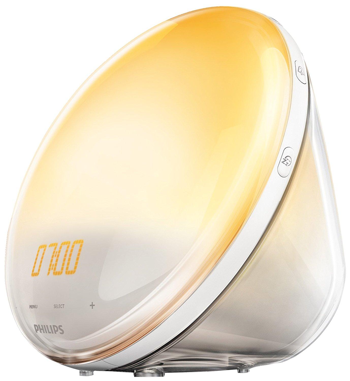 Philips HF3505/01 Wake-up Light für 49,99€ oder HF3531/01 für 99€