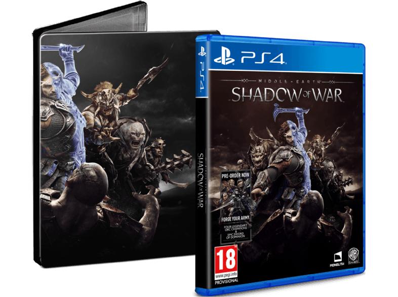 Mittelerde: Schatten des Krieges (PS4 / XB1) + Steelbook für 34,99€