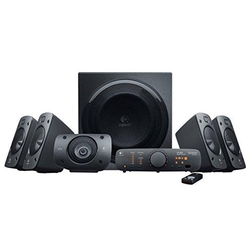 Logitech Z906 3D-Stereo-Lautsprecher THX (Dolby 5.1-Surround-Sound und 500 Watt) für 179€