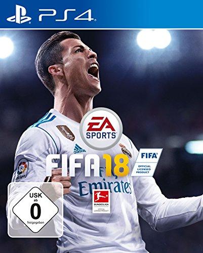 FIFA 18 - (PS4, XBox One) um 42 € / (PS3, XBox360) um 35 €