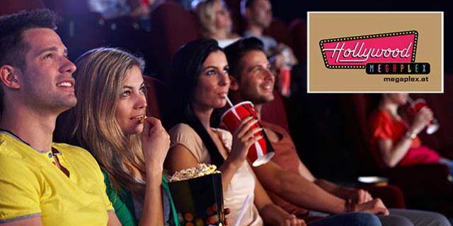 Megaplex Wien: 2 Kino-Tickets und 2 x Buffet-Kombi um 20 €