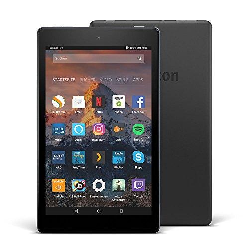 Amazon.de: Fire HD 8 Tablet mit Alexa, 20,3cm (8 Zoll) Display, 16GB (Schwarz) um 60,66€ (als Prime Kunde)