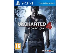 PS4 Uncharted 4: A Thief's End Adventure