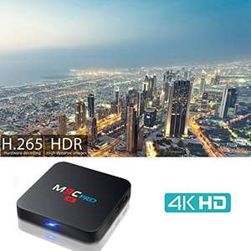 [Amazon.de] Laufzeit: 5 Stunden 30 Minuten - M9C Pro Smart TV Box mit Android 6.0 Betriebssystem Amlogic S905X Quad-Core 1GB DDR3 8GB Nand-Flash 2.4 GHz WiFi