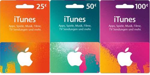 [LIBRO] +15% Guthaben auf iTunes Karten 25€/50€/100€ vom 23.11.-25.11.2017