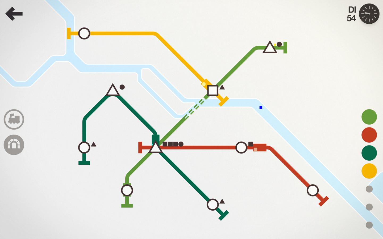 Mini Metro für Android um nur 0,59€