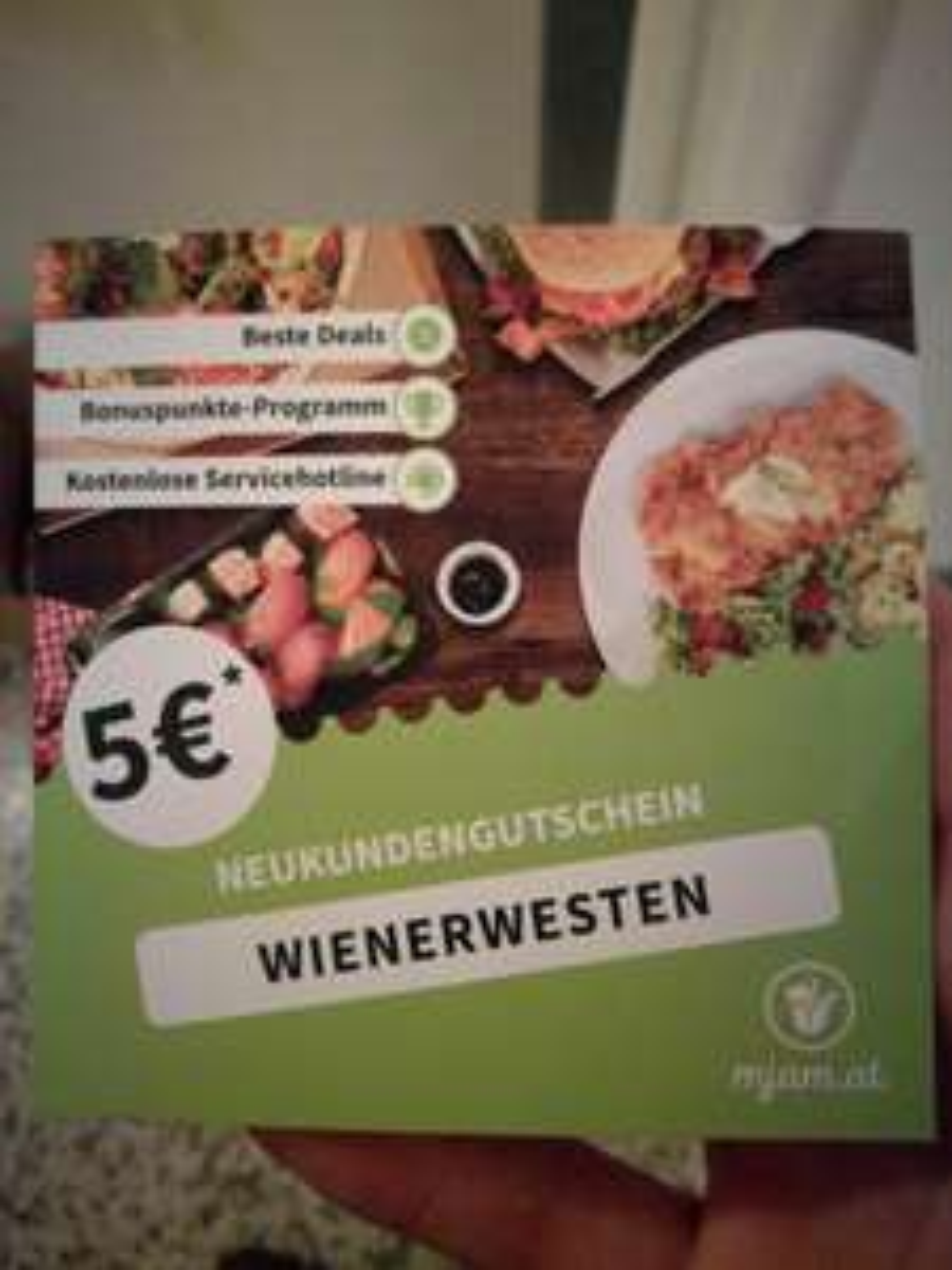 5€ Mjam  Neukundengutschein