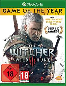 [amazon.de] The Witcher 3: Wild Hunt - Game of the year Edition (Xbox One/PS4)