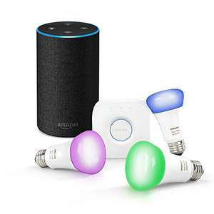 [Amazon] Amazon Echo & Philips Hue Starter Set