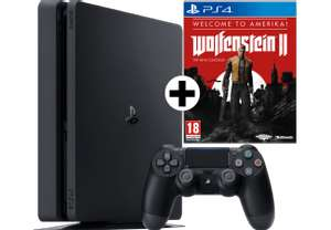 "PS4 500GB + Wolfenstein II: The New Colossus ""Welcome to Amerika"""