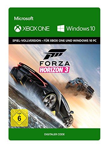 [amazon.de] Forza Horizon 3 - Standard Edition [Xbox One/Windows 10 PC – Download Code] + DLC Hot Wheels und Blizzard Mountain um je 10,49 €