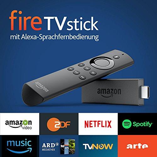 [Amazon] Fire TV Stick mit Alexa-Sprachfernbedienung