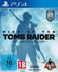 [Amazon.de] [PS4] Rise of the Tomb Raider - 20 Year Celebration Edition für €26,-