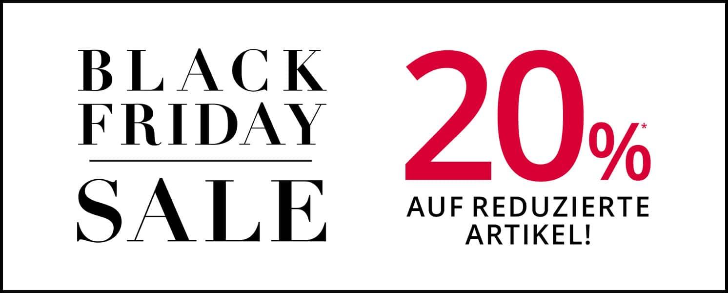 Peek & Cloppenburg Black Friday: 20% Extra-Rabatt auf bereits reduzierte Artikel