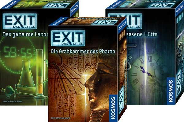 """Toys'""""R""""US: Exit-Das Spiel (Kosmos) - 2 Spiele um 14,97€"""