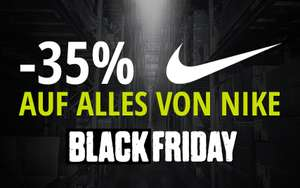 XXL Sports & Outdoor Black Friday - 35% Rabatt auf alles von Nike