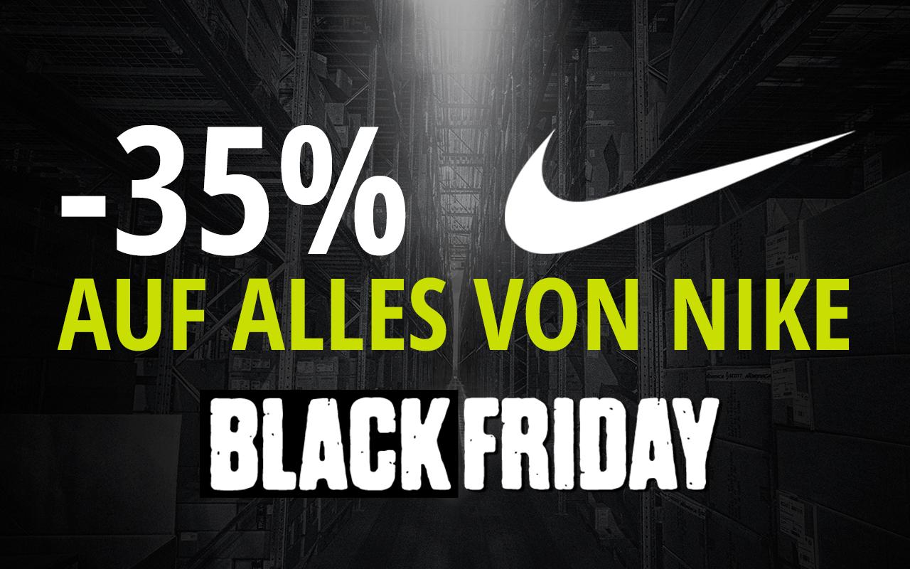 XXL Sports & Outdoor Black Friday - 35% Rabatt auf alles von Nike