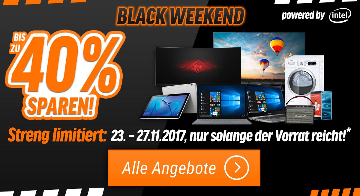 BlackWeekend bei notebooksbilliger.de! viele Prozente!
