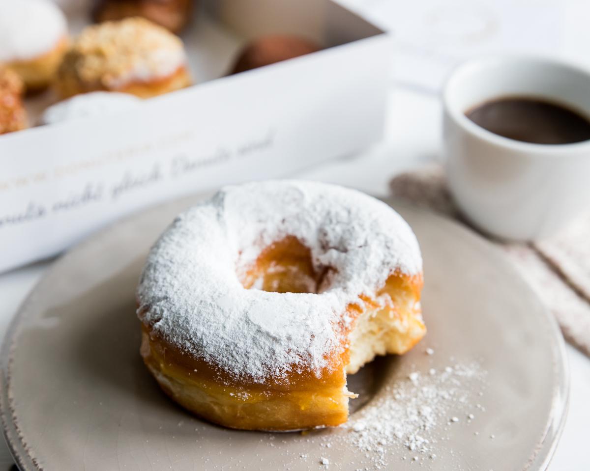 Minis und Donuts bei Donuteria