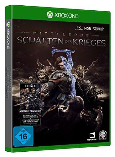[amazon.de] Mittelerde - Schatten des Krieges zum Wahnsinnspreis!! (Xbox One) - Nur für Primekunden!! (Gold Edition um 64,99 €)