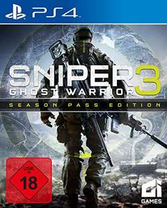 [amazon.de] Sniper Ghost Warrior 3 - Season Pass Edition (PS4 - 20,59; Xbox One - 22,06€, PC - 14,70 €)
