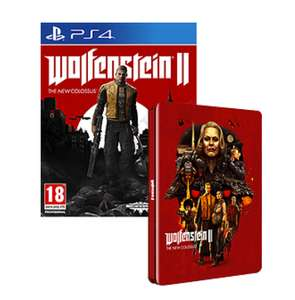 Wolfenstein II: The New Colossus + Steelbook ( PS4) UNCUT