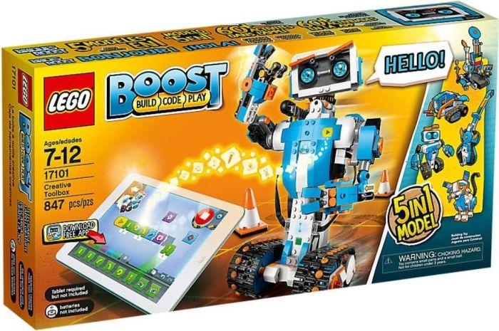 LEGO Boost - Programmierbares Roboticset (17101)