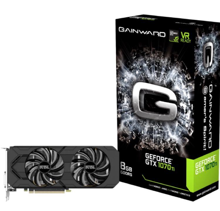 Gainward Geforce GTX 1070 Ti (8GB GDDR5) Grafikkarte @ Alternate.at